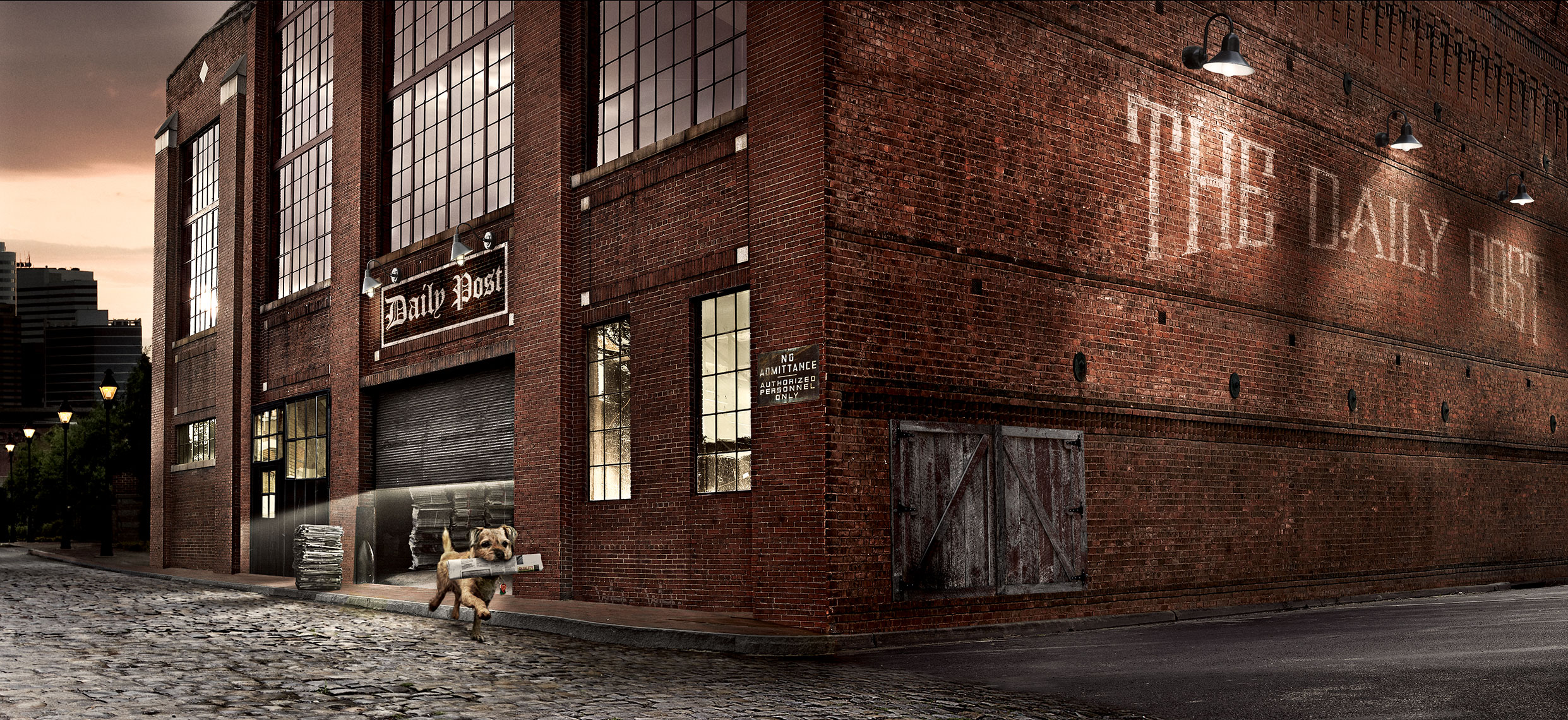 Photography, Photo Illustration, Digital Imaging, Composition, Color Grading, Creative Retouching and Retoucher for Avrett-Free-Ginsberg-MightyDogPaperFactory2