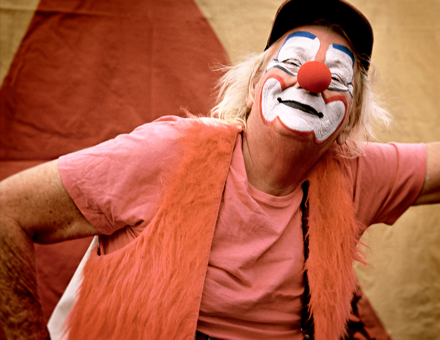 Photography, Photo Illustration and Retouching on Clown-Sarasota-Florida