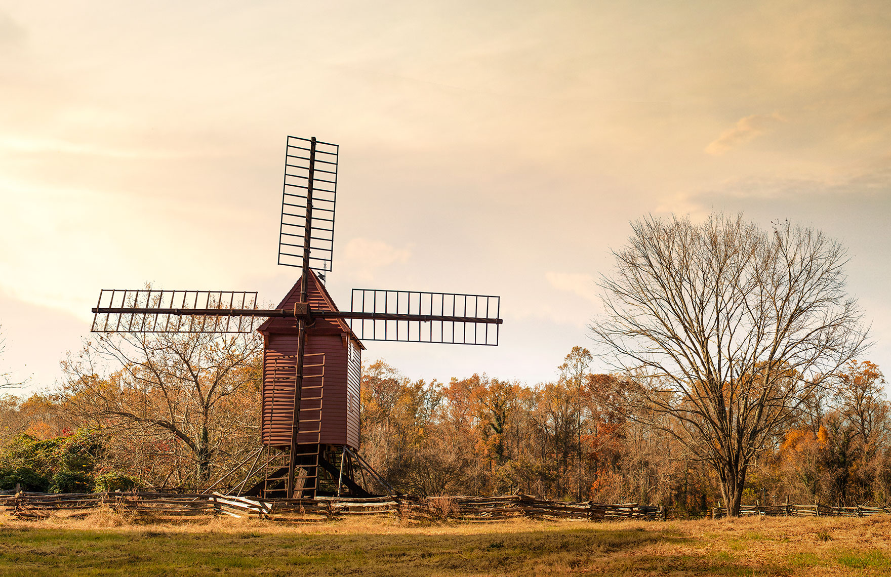 Photography, Photo Illustration and Retouching on Great-Hopes-Plantation-Windmill_11.25.17