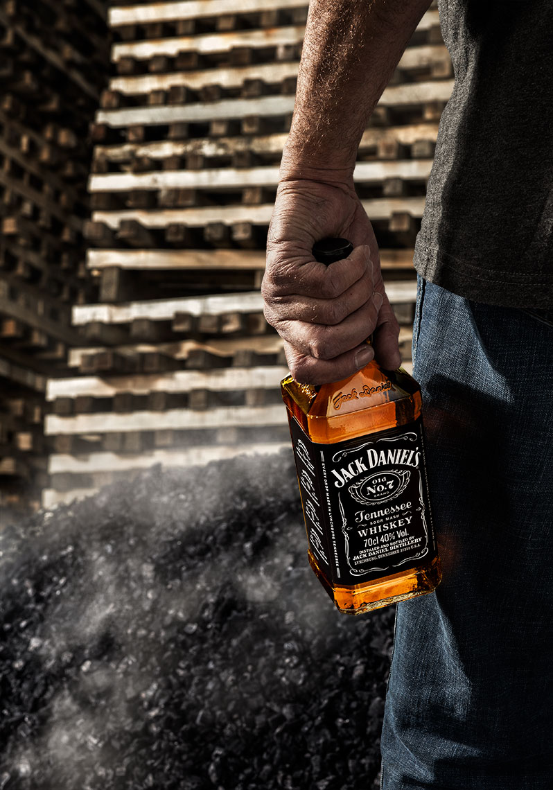 Photography, Photo Illustration, Digital Imaging, Composition, Color Grading, Creative Retouching and Retoucher for Arnold and Jack Daniels