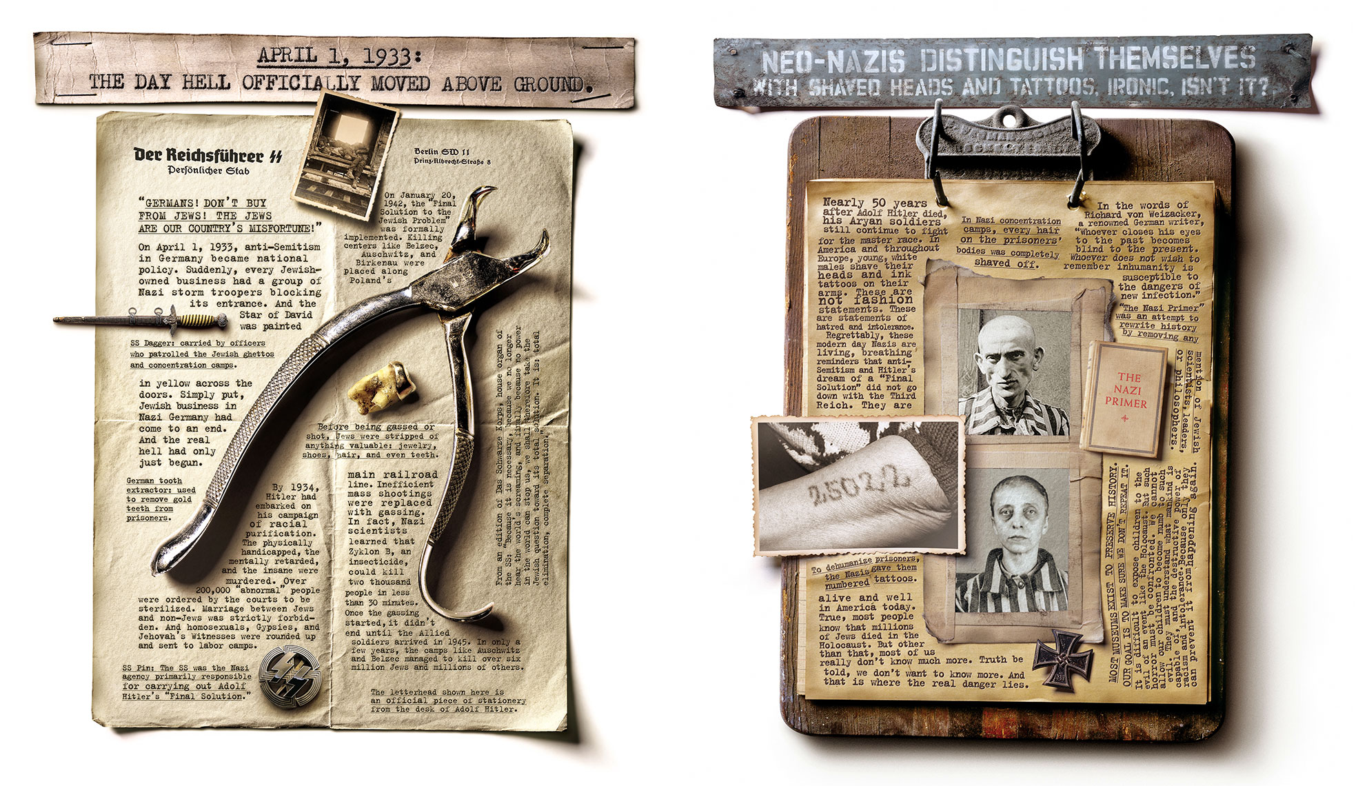 Photo Illustration and Retouching on Martin-Agency-Holocaust_Together